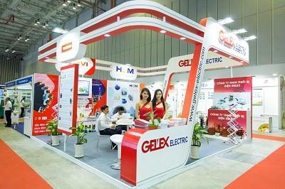 GELEX ELECTRIC tham gia Triển lãm Công nghệ Thiết bị điện với nhiều sản phẩm mới