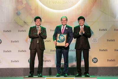 GELEX đạt TOP 50 Công ty niêm yết tốt nhất Việt Nam 2018